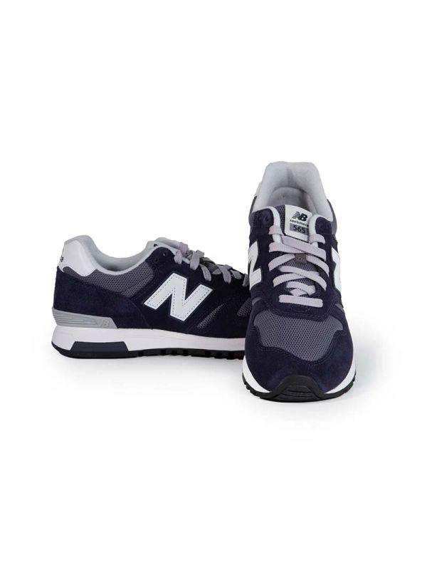 New Balance Sneaker da Uomo 565 in Suede e Mesh
