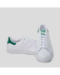 Adidas Scarpa Uomo Stan Smith pelle verde e bianco