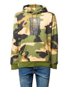 Adidas Felpa da Uomo con Cappuccio Camouflage