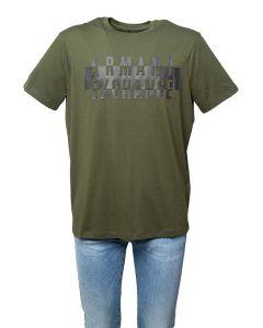 Armani AX T-shirt da Uomo a Manica Corta