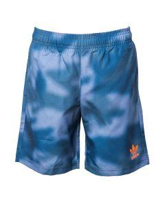 Adidas Pantalone da Ragazzo da Nuoto Camouflage Blu