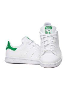 Adidas Scarpa da Bambini Stan Smith Bianca e Verde