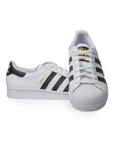 Adidas Scarpa da Uomo Superstar Bianca e Nera