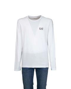 EA7 Armani T-shirt da Uomo a Manica Lunga