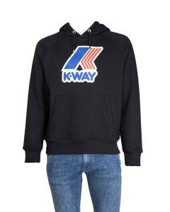 K-Way Felpa in Cotone da Uomo Loki con Logo e Cappuccio