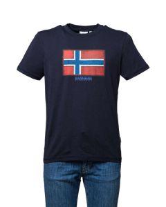 Napapijri T-Shirt da Uomo a Maniche Corte Sirol
