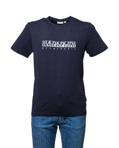Napapijri T-Shirt da Uomo a Maniche Corte Sallar