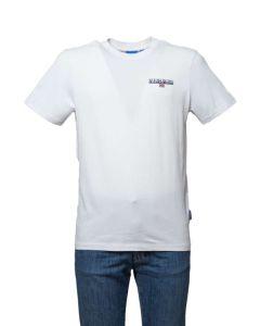 Napapijri T-Shirt da Uomo a Maniche Corte Ice