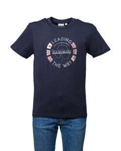 Napapijri T-Shirt da Uomo a Maniche Corte salya