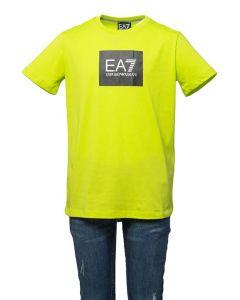 EA7 Armani T-shirt da Ragazzo a Manica Corta