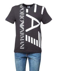 EA7 Armani T-Shirt da Uomo con Maxi Logo