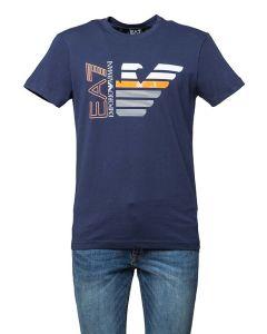 EA7 Armani T-Shirt da Uomo con Logo Aquila