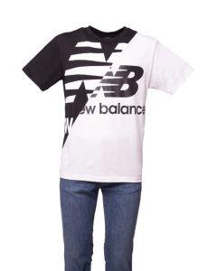 New Balance T-shirt da Uomo a Manica Corta