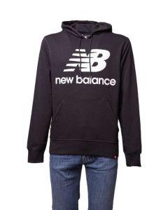 New Balance Felpa da Uomo con Cappuccio NB Essential