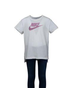Nike T-Shirt Junior Sportswear con Logo Medio
