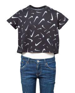 Nike T-shirt da Ragazza Crop