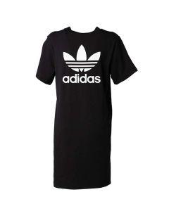 Adidas Vestitino da Donna Nero con Trifoglio