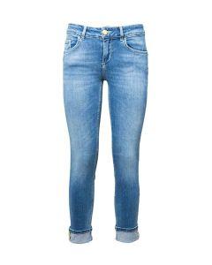 Liu Jo Jeans da Donna Skinny con Bottoni Gioiello