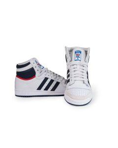 Adidas Scarpe da Uomo Top Ten Bianche con Chiusura Alta