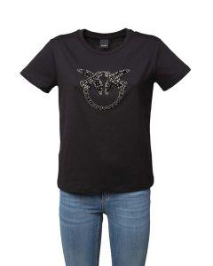 Pinko T-shirt da Donna a Maniche Corte