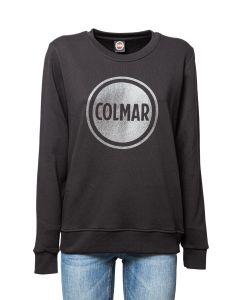 Colmar Originals Felpa da Donna Girocollo con Maxi Logo Glit