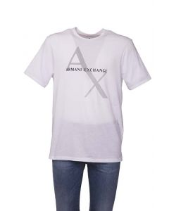 Armani Ax T-Shirt da Uomo con Logo Retinato