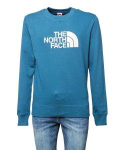 The North Face Felpa da Uomo a Girocollo con Logo