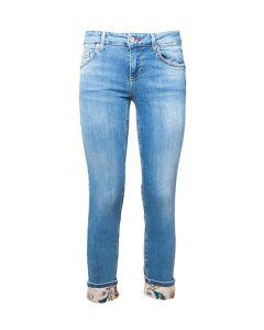 Liu Jo Jeans da Donna Skinny con Risvolto