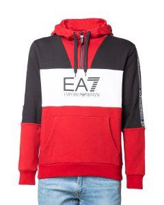 EA7 Felpa da Uomo Color Block
