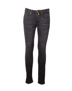Jeckerson Jeans da Uomo Classico con Toppa