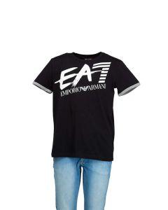 EA7 T-Shirt Ragazzo con Logo sul Retro