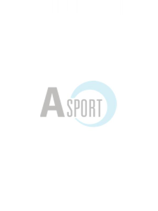 Adidas Giacca da Donna Nera e Grigia con Tre Strisce